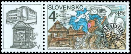 Deň poštovej známky - História pošty