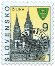 Žilina   (Definitive stamp)