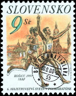 6. Majstrovstvá sveta v polmaratóne, Košice 1997