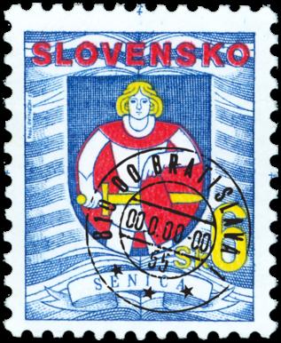 Senica   (Definitive stamp)