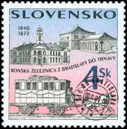 Technické pamiatky - Konská železnica z Bratislavy do Trnavy