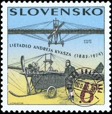Technické pamiatky - Lietadlo Andreja Kvasza