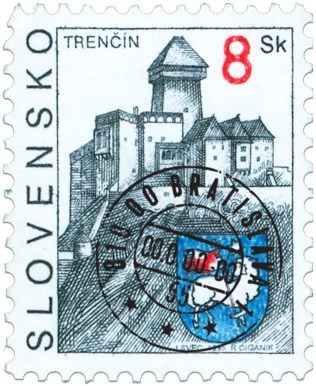 Trenčín   (Definitive stamp)