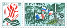 Fiftieth Anniversary of the Slovak National Uprising - French Partisans