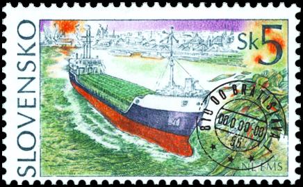 Lode - Nákladná loď EMS