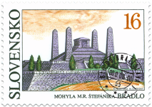 Mohyla Milana Rastislava Štefánika, Bradlo