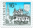 Levoča   (Definitive Stamp)