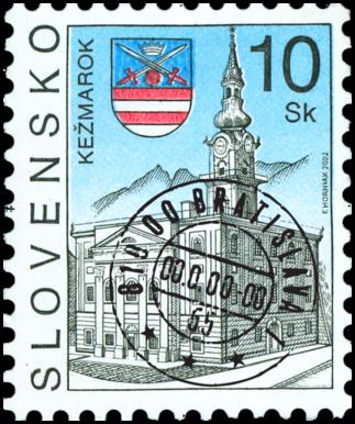 Kežmarok   (Definitive stamp)