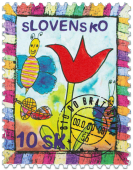 Children´s Stamp    (Definitive stamp)