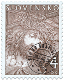 Stations of the Cross - release of a series of Easter stamps
