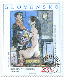 Koloman Sokol: V ateliéri