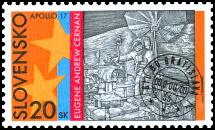 30th Anniversary of Apollo 17 Moonflight - E. A. Cernan
