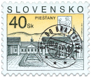Piešťany   (Definitive stamp)