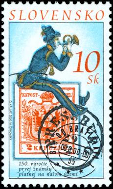 150. výročie prvej známky platnej na našom území