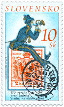 150.th Anniversary of the First Stamp Put into Circulation on the Postal Service Territory of Slovakia