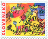 Children Postage Stamp - UNICEF