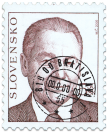 President of the Slovak Republik Rudolf Schuster (Definitive stamp)