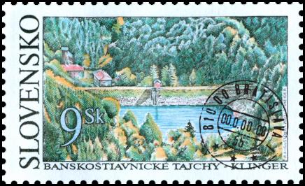 Banskoštiavnické tajchy - Klinger (Lake Klinger)