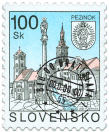 Pezinok   (Definitive stamp)