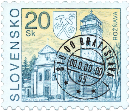 Rožňava   (Definitive stamp)