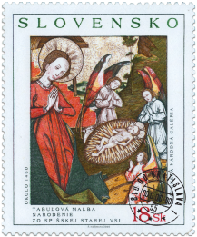 Art - Nativity from Spišska Stará Ves