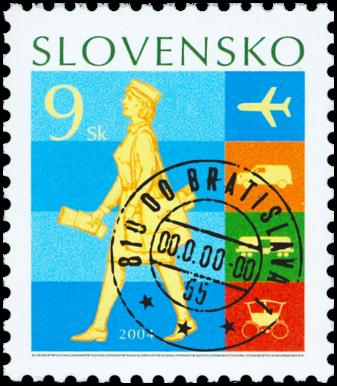 Deň poštovej známky: História poštovej dopravy  (výplatná)