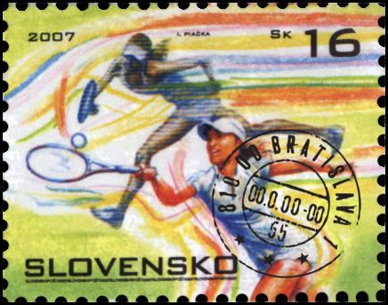 Športová známka - Tenis
