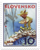 Stamp for Children - Janko Hraško