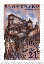 Joint Issue with San Marino - Orava Castle