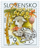 Easter 2005 - Easter Lamb   (Definitive stamp)