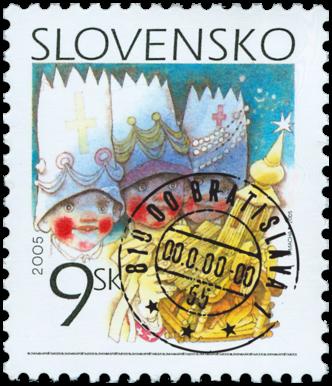 Christmas 2005   (Definitive stamp)