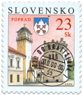 Poprad (definitive stamp)