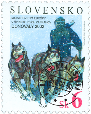 The European Sled Dog Race Championship Donovaly 2002