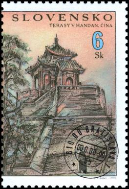 Slovensko-čínske spoločné vydanie - Terasy v Handan