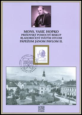 Mons. Vasiľ Hopko blahorečený Sv. Otcom pápežom Jánom Pavlom II.