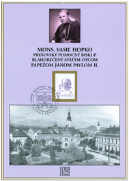 Monsignor Vasil Hopko revered from John Paul II
