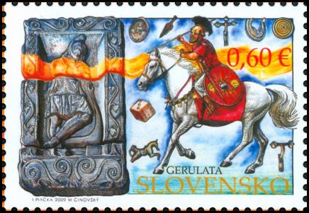 Spoločné vydanie s Rakúskom: Limes romanus, Gerulata