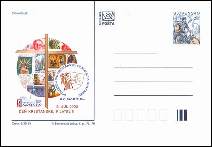 Slovensko 2002, Deň kresťanskej filatelie