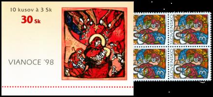 Vianoce 1998 - Viera Hložníková: Klaňanie troch kráľov