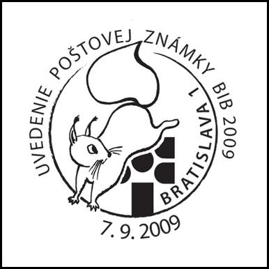 Uvedenie poštovej známky BIB 2009