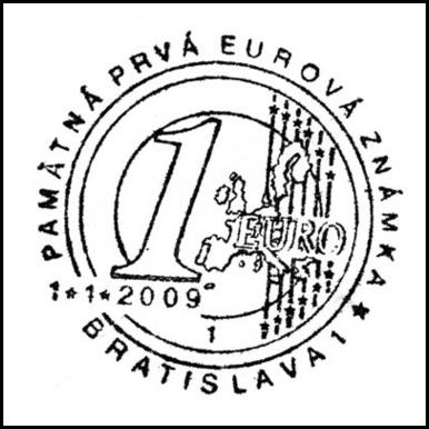 Pamätná prvá eurová známka