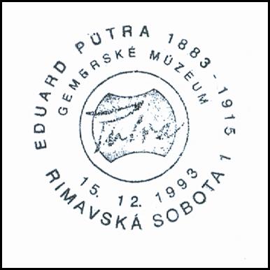 """Eduard Putra 1883-1915 Gemerské múzeum"""
