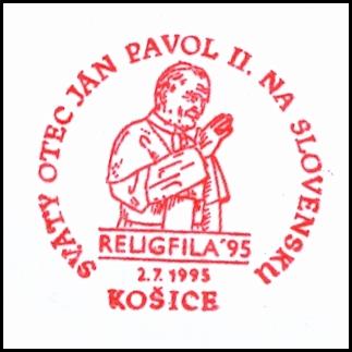 """""""Svätý Otec Ján Pavol II. na Slovensku Religfila 95 """""""