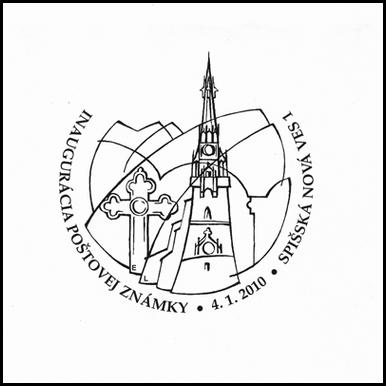 Inaugurácia poštovej známky Kostol Nanebovzatia P. Márie v Spišskej Novej Vsi