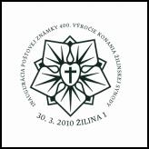 Inaugurácia poštovej známky 400. výročie Žilinskej synody