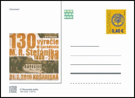 130. výročie narodenia M. R. Štefánika