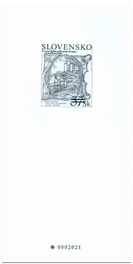 Stamp - Bratislava stamp