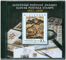 CD Slovak Postage Stamps 1993 - 2000