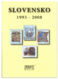 "Catalog of Slovak philatelic products ""Slovensko1993 - 2008"""