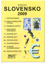 Dodatok katalógu Slovensko 2009